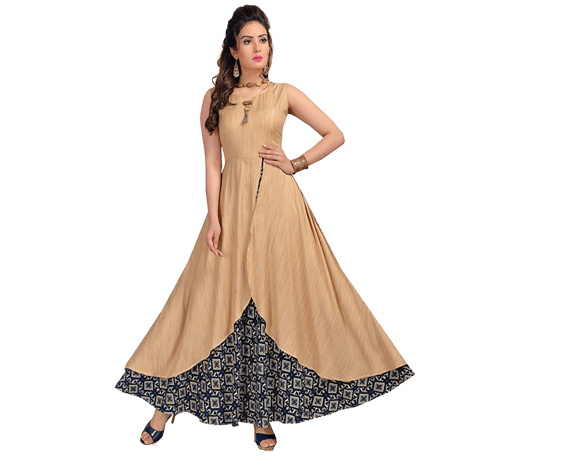 Gown Style Long Kurta