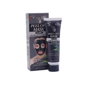 black mask with bamboo charcoal