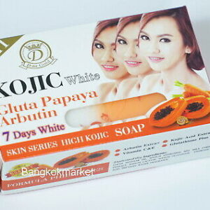 KOJIC White Gluta Collagen Super Aha Soap