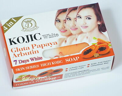 KOJIC White Gluta Collagen Super Aha Soap