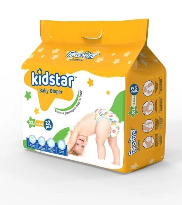 Kidstar Baby Diaper Extra Large