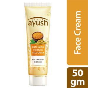 Lever Ayush Face Cream Anti Marks Turmeric 50g