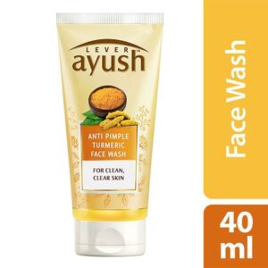 Lever Ayush Face wash Anti Pimple Turmeric