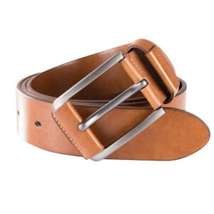 Men Mixed Leather Formal Waist Belt