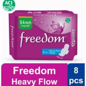 Sanitary Napkins Heavy Flow Wings - 8 Pads