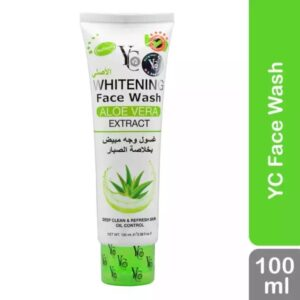 Y C Whitening Face Wash with Aloe Vera Extract